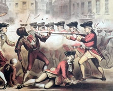 Crispus Attucks Dies in the Boston Massacre