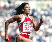 Florence Griffith Joyner Born
