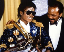 Michael Jackson Wins Eight Grammys