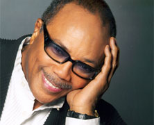 Quincy Jones Born