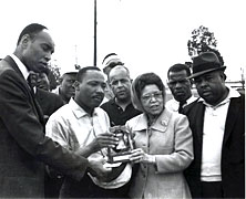 Selma to Montgomery March Begins