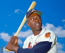 Hank Aaron Hit First Home Run