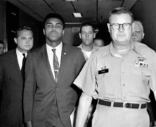 Muhammad Ali refuses Induction into the US Army