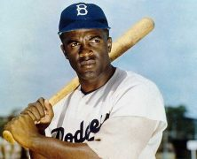 Jackie Robinson Breaks Color Barrier